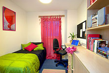 Modern student accommodation